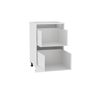 Каркас нижнего шкафа с 2-мя ящиками Н 502 Белый