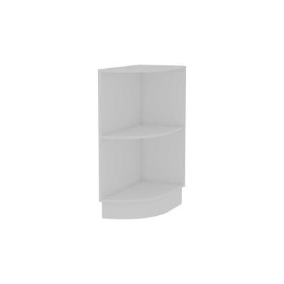 Каркас нижнего торцевого шкафа НТ 300S Белый