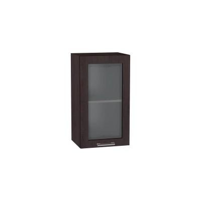 Шкаф верхний со стеклом Брауни ШВС 400 Венге