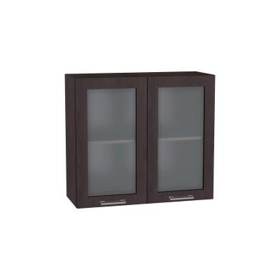 Шкаф верхний со стеклом Брауни ШВС 800 Венге