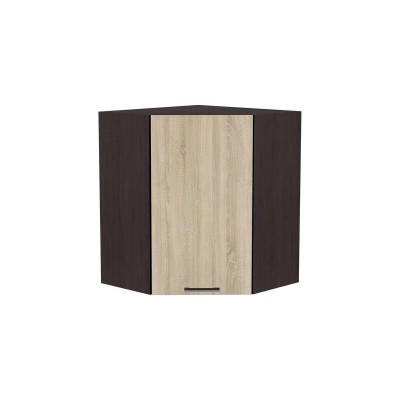 Шкаф верхний угловой Брауни ШВУ 590 Дуб сонома