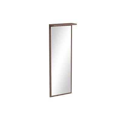 Зеркало настенное универсальное ЗР-100 Ясень шимо темный
