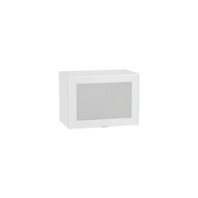 Шкаф верхний горизонтальный остекленный с увеличенной глубиной Фьюжн-AL-01