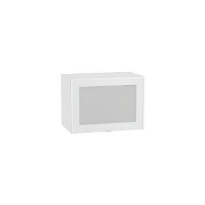 Шкаф верхний горизонтальный остекленный Фьюжн-AL-01